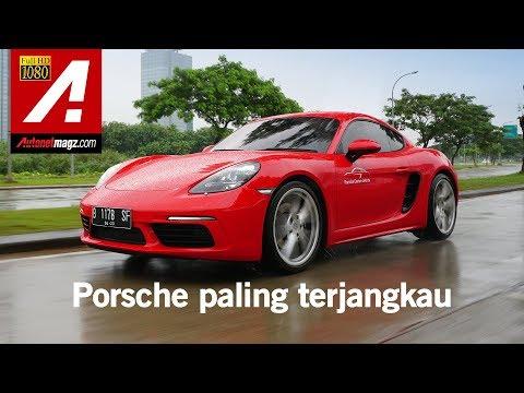 Porsche 718 Cayman 2018 Review & Test Drive by AutonetMagz