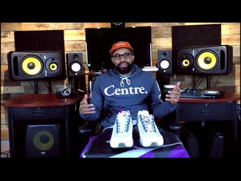 Mr. Rogers - 'Unboxed With DJ Mr. Rogers' NIKE AIR MAX 95 HOUSTON HOME & AWAY Edition