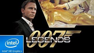007 LEGENDS | LOW END PC TEST | INTEL HD 4000 | 4 GB RAM | i3 |