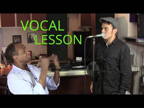 Voice Lesson - How To Record Vocals In The Studio - Roger Burnley Voice Studio - Singing