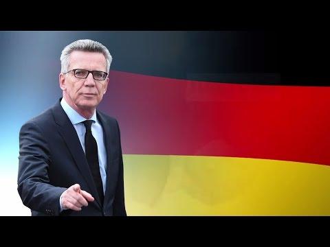 """Thomas de Maizière: Thesen zur deutschen Leitkultur - """"Wir sind nicht Burka"""""""