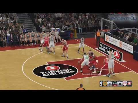 NBA 2K16: ΟΣΦΠ Vs ΠΑΟ Gameplay (PS4 -1080p/60fps)