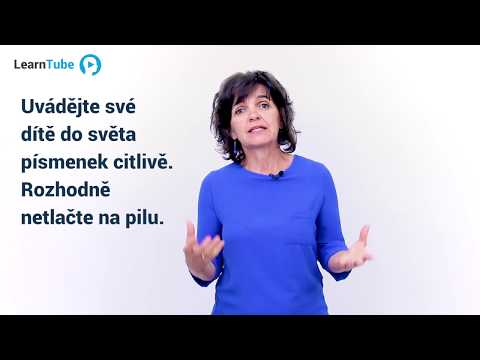 JAK NAUČIT DĚTI ČÍST - LEKCE 3: První krůčky - Dana Míková