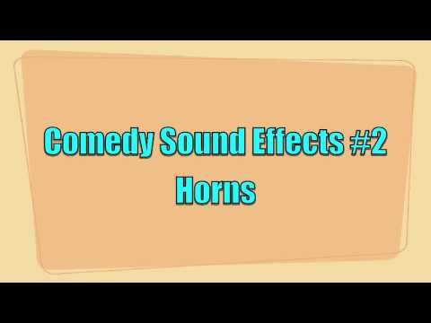 Comedy Sound Effects #2 Horns