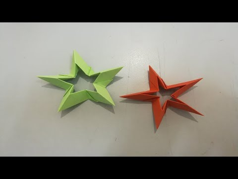 Diy paper stars | Easy paper stars | Origami star | paper star making