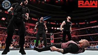 THE SHIELD ATTACKS ACTING GENERAL MANAGER BARON CORBIN! (RAW 8/27/18 Custom Scenario - WWE 2K18)