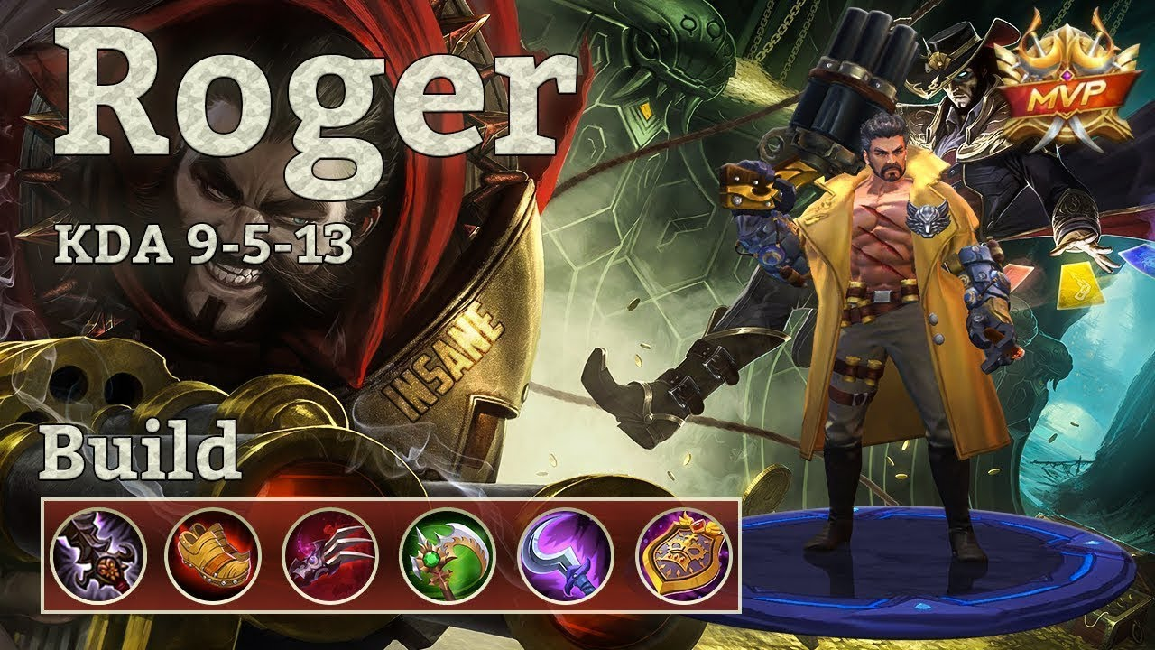 Indonesia Mobile Legends : Roger Emang The Best