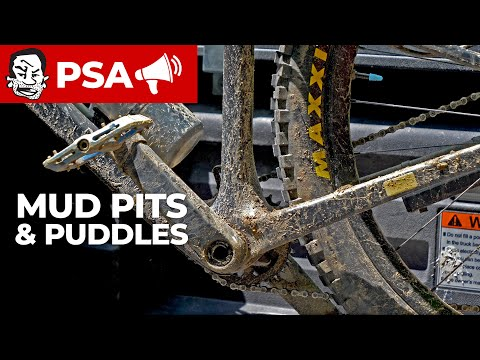 Ride THROUGH mud pits, NOT around them