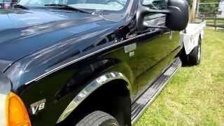 1999 Ford F-350 XLT 4x4 Dually ,4 Door, 7.3 Liter Powerstroke Turbo Diesel, 95K MIles, Cowboy Bed,