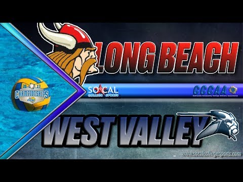2017 CCCAA Water Polo Men's Semifinals: West Valley vs LBCC