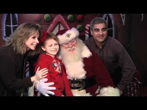 Santa Claus visits the Jimmy Fund Clinic | Dana-Farber Cancer Institute