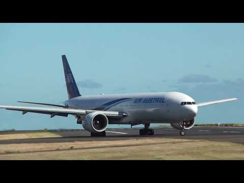 Plane Spotting Roland Garros Airport 2014 (RUN)