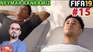 NEYMAR JR. KANKAMIZ OLDU VE ALEX HUNTERDEN EFSANE GOL! | FIFA 19 YOLCULUK MODU #15