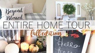 FALL HOME TOUR | MY ENTIRE HOUSE TOUR | FARMHOUSE STYLE HOME TOUR