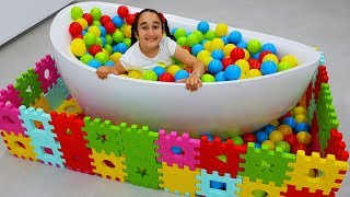 Gamze's colored ball pool