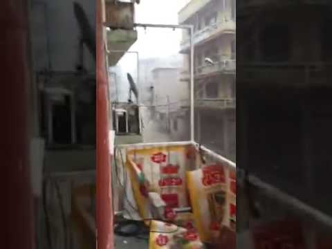 Today there was a catastrophe in Izmir raining , we rescued ourselves by a half hour watch.