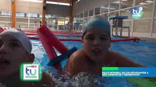 Inició el Programa de Natación 2019 en el Spa San Miguel
