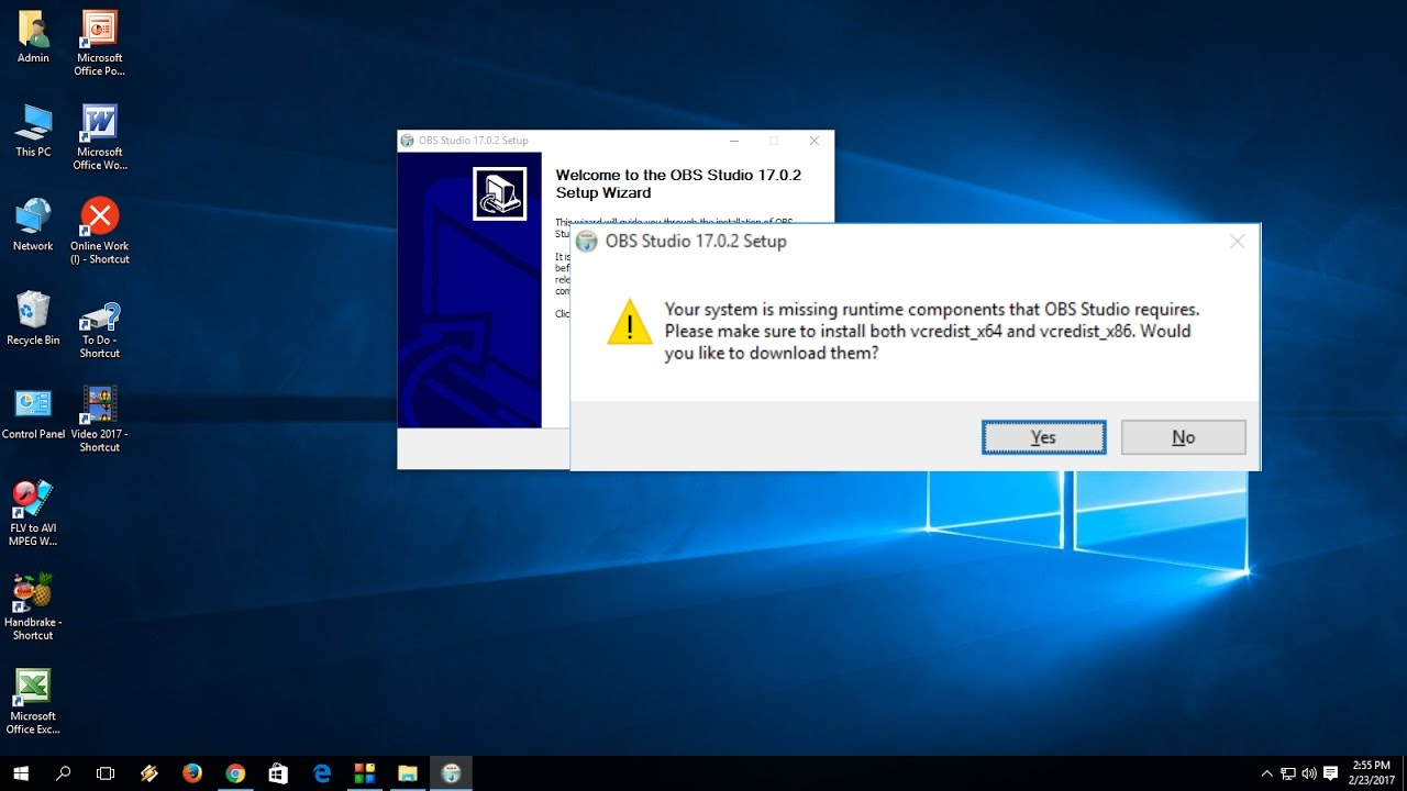 How to Fix OBS Installation Error Your System is Missing in Windows PC