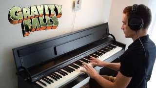 Saying Goodbye to Gravity Falls - Piano // ThePandaTooth