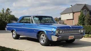 1964 Dodge Polara Max Wedge Test Drive Classic Muscle Car for Sale in MI Vanguard Motor Sales