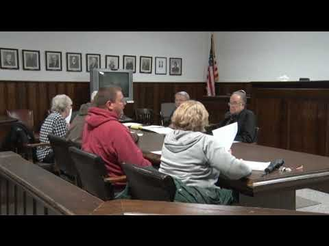 Claiborne County Charter Commission - November Meeting