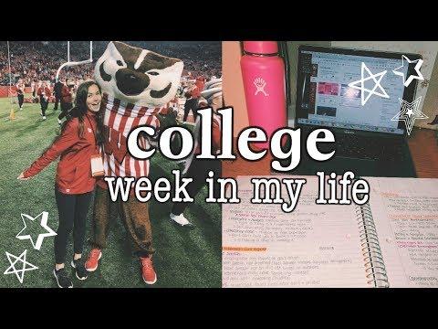 college week in my life // university of wisconsin