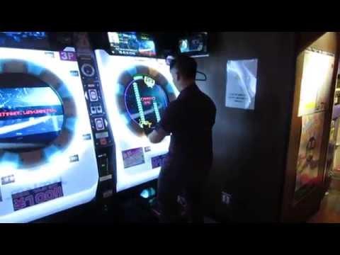 Hatsune Miku: Project DIVA at Sega World Arcade in Tokyo