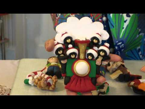 New Polymer Clay Ornaments With Deb And Felix