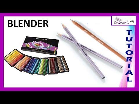 Como utilizar el 🎨 Blender o MEZCLADOR  🎨 para Lapices de  colores