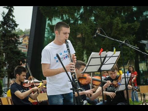 UNICEF MNE - Children's orchestra promotes preschool education in the north of Montenegro