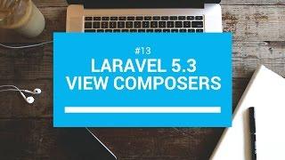 Laravel 5.3 tutorials #13 View composers