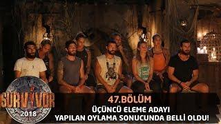 İşte Gönüllüler takımının üçüncü eleme adayı | 47. Bölüm | Survivor 2018