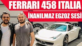 İnanılmaz Egzoz Sesi | Ferrari 458 Italia