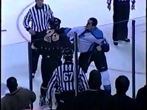 Nolan Brown vs George Davis UHL fight 1-12-04
