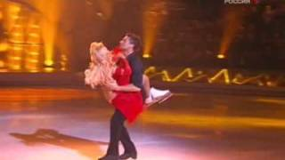 "Sergey Lazarev, Lera Kudryavtseva.  ""Звёздный лёд"""