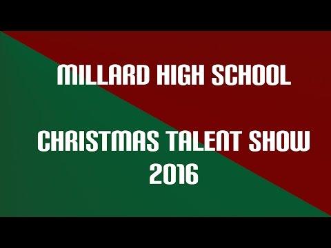 Millard High School Christmas Talent Show 2016