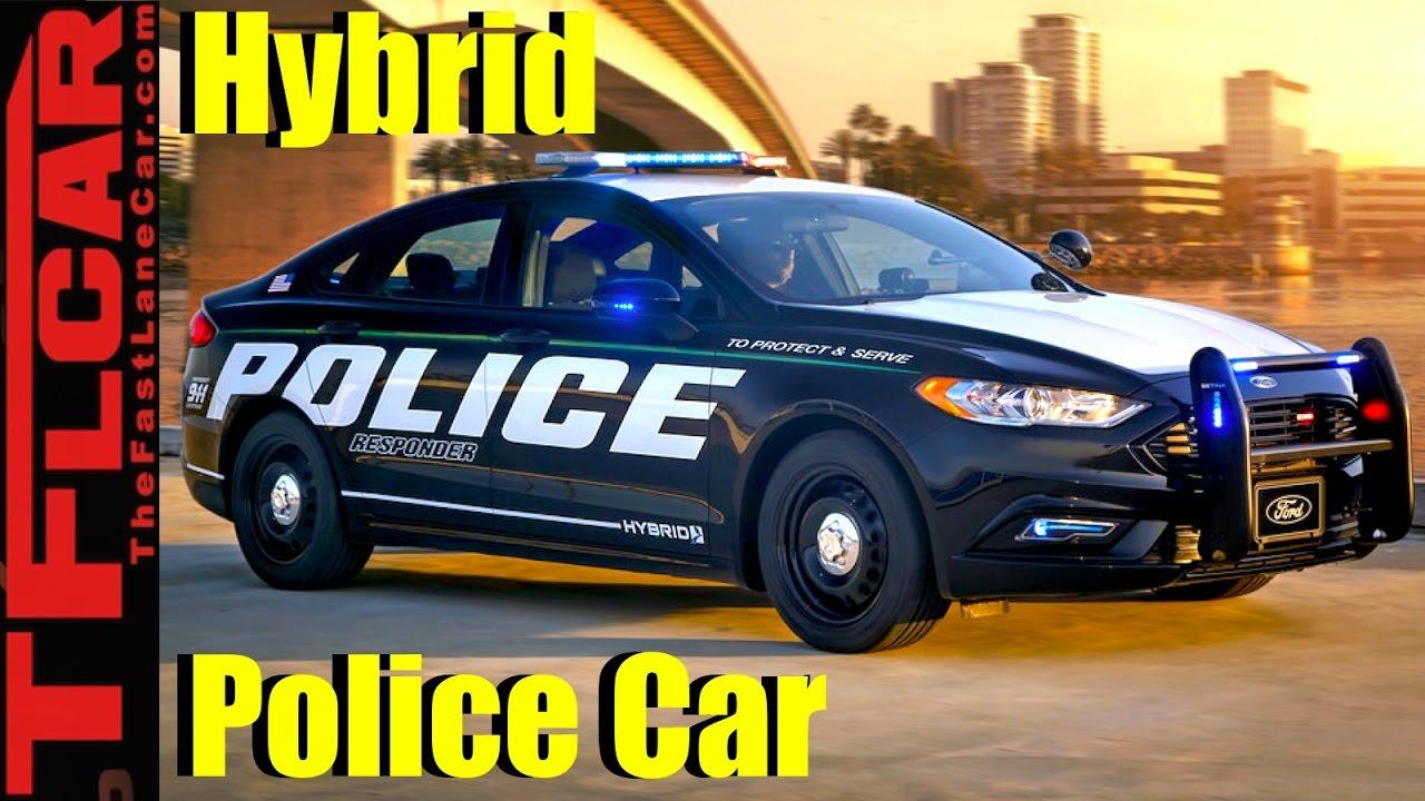 Meet The Ford Police Responder Hybrid Sedan 38 Mpg Fusion Gets A Makeover