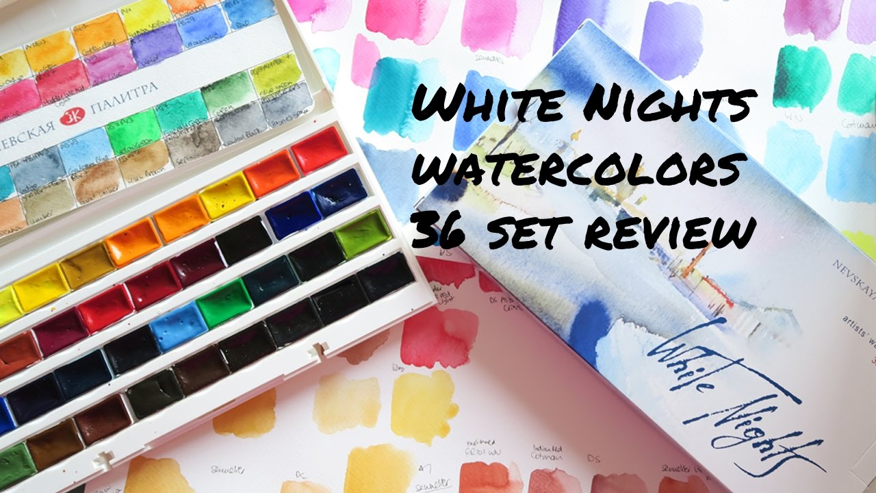 Blue Turquoise Watercolor Colors Paint Custom Set 2 5ml Full Pans