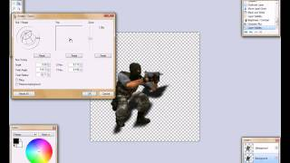 -[ Paint.NET ]- HD Tutorials: 3D shadow drop!!!