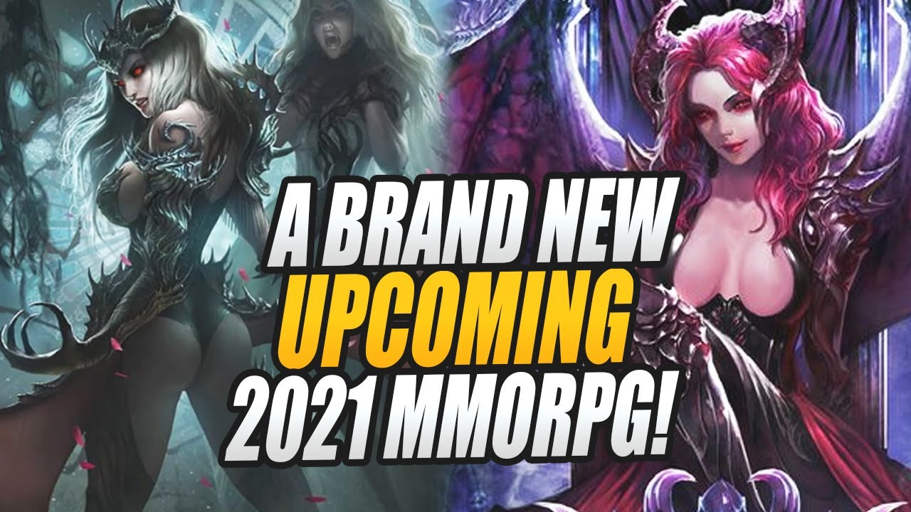 YES! We got ANOTHER Brand New Upcoming 2021 MMORPG - Shadows Kiss!