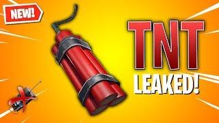 Leaked TNT BUNDLE Item Coming Soon! (Fortnite)