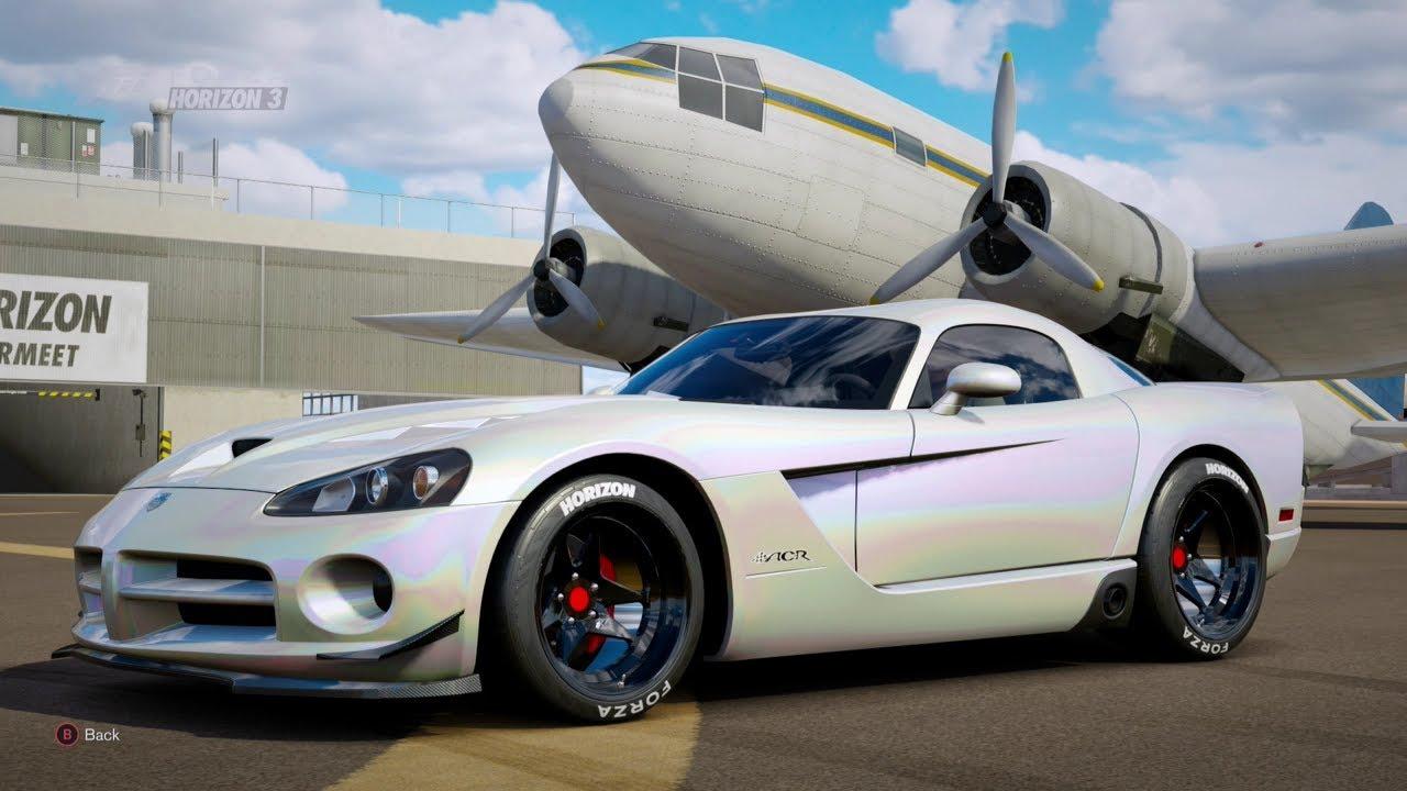 Forza Horizon 3  900Hp 2008 DODGE VIPER SRT10 [Drag Build ...