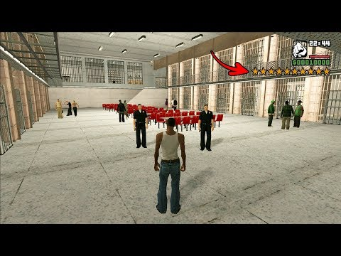 Secret Prison with Cells in GTA San Andreas! (REAL PRISON)