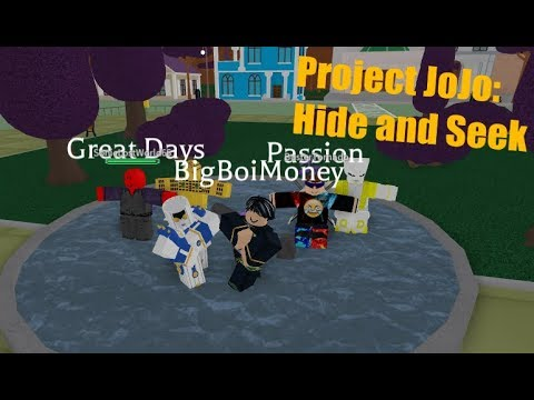 Roblox Project Jojo C-Moon Showcase! by Sheeptrainer