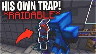 HIS OWN TRAP MADE HIM RAIDABLE... (2 RAIDS) | Minecraft HCF
