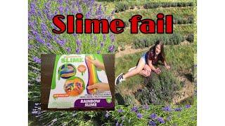 Nickelodeon Rainbow Slime BIG FAIL OR SUCCESS!!!!??!! Callie and Jordan Squad making slime