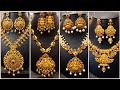 Latest 1 Gram Gold Matte Finish Necklace Collections with Price