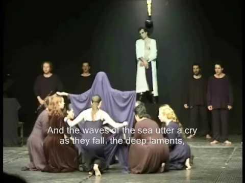 Live Prometheus Bound [399-437] (original text - English Subtitles)  Theatre Erineos- Greece