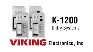 Multi-Tenant Entry Systems by Viking Electronics