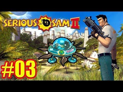 Serious Sam 2 | Český Let's Play #3 UFO [Porty]